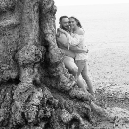 Candice and Ben, destination engagement session in Fort Lauderdale, FL.